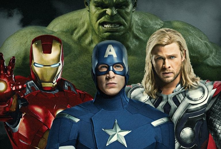 Captain-America-Iron-Man-Thor-and-The-Hulk-the-avengers-31170722-768-517