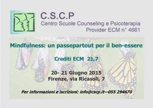 """Eventi: """"Mindfullness: un passepartout per il ben-essere"""""""