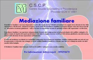 """Corso: """"Mediazione Familiare"""""""
