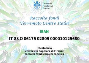 Raccolta fondi per terremoto centro Italia
