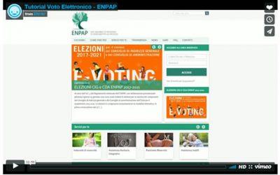 Tutorial: Enpap, il voto da casa tramite pec