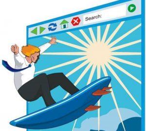 navigando sul web a cercar notizie